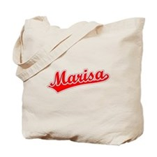 Retro Marisa (Red) Tote Bag