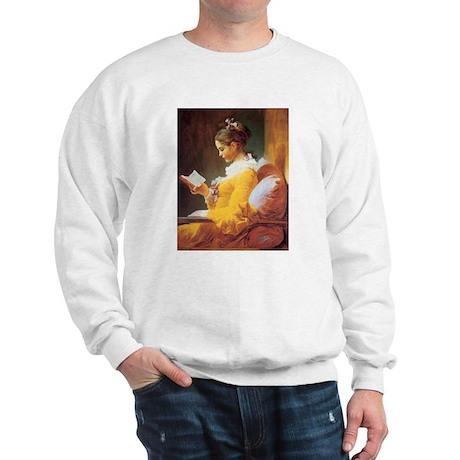 Young Girl Reading c. 1776 Sweatshirt