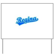 Retro Regina (Blue) Yard Sign