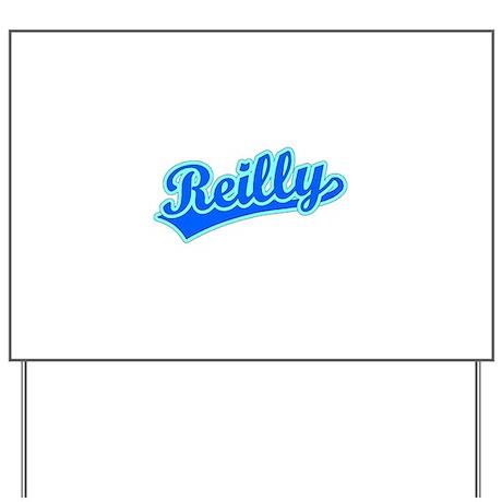 Retro Reilly (Blue) Yard Sign