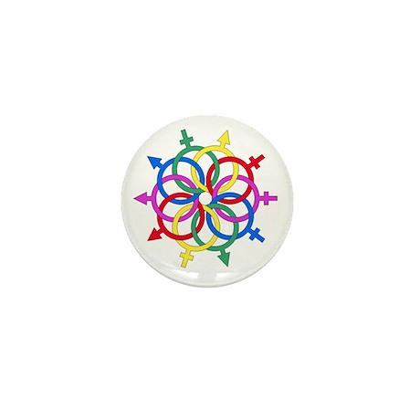 Let Love Happen Mini Button (100 pack)