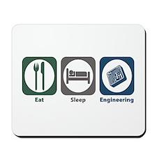 Eat Sleep Engineering Mousepad