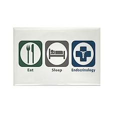 Eat Sleep Endocrinology Rectangle Magnet (10 pack)