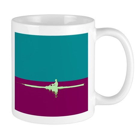 ROWER TEAL PURPLE Mug