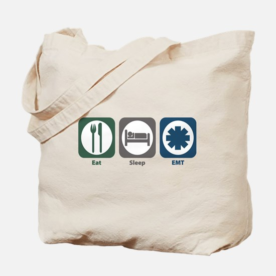 Eat Sleep EMT Tote Bag