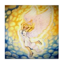 sweet Angel Singing Tile Coaster