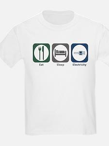 Eat Sleep Electricity T-Shirt