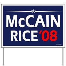 McCain - Rice '08 Yard Sign