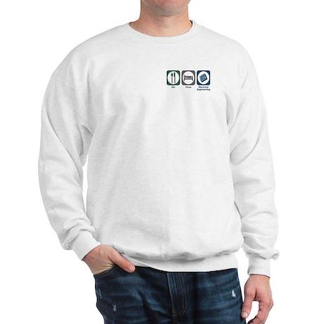 Eat Sleep Electrical Engineering Sweatshirt