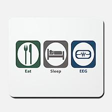 Eat Sleep EEG Mousepad
