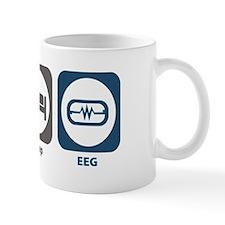 Eat Sleep EEG Small Mug