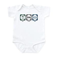 Eat Sleep EEG Infant Bodysuit
