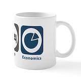 Eat sleep economics Coffee Mugs