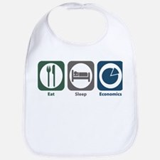 Eat Sleep Economics Bib