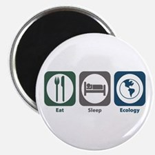 Eat Sleep Ecology Magnet