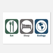 Eat Sleep Ecology Postcards (Package of 8)