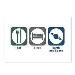 Eat Sleep Earth and Space Sciences Postcards (Pack
