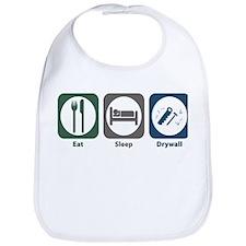 Eat Sleep Drywall Bib