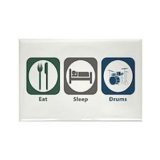 Eat Sleep Drums Rectangle Magnet