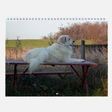 2015 Great Pyrenees Wall Calendar