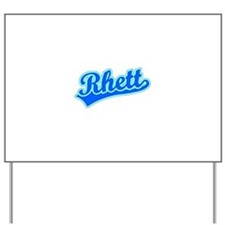 Retro Rhett (Blue) Yard Sign