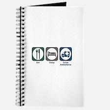 Eat Sleep Drive Ambulance Journal