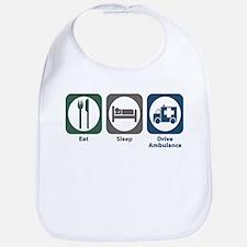Eat Sleep Drive Ambulance Bib