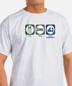 Eat Sleep Drive Ambulance T-Shirt