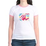 """""""FUNKY HAND"""" Jr. Ringer T-Shirt"""