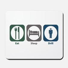 Eat Sleep Drill Mousepad