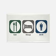 Eat Sleep Drill Rectangle Magnet (10 pack)