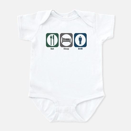 Eat Sleep Drill Infant Bodysuit