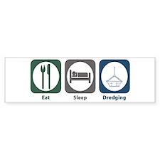 Eat Sleep Dredging Bumper Sticker (10 pk)