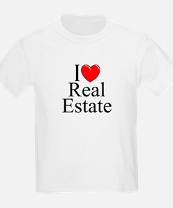 """I Love (Heart) Real Estate"" T-Shirt"