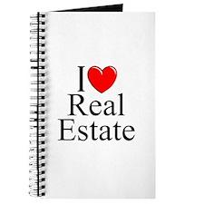"""I Love (Heart) Real Estate"" Journal"