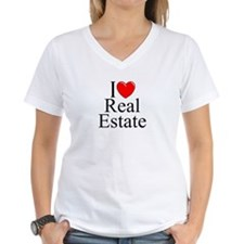 """I Love (Heart) Real Estate"" Shirt"