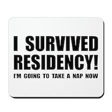 Residency Survivor Mousepad