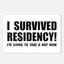 Residency Survivor Postcards (Package of 8)