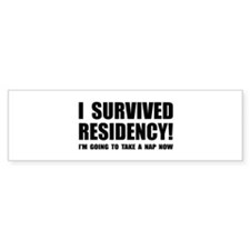 Residency Survivor Bumper Sticker (50 pk)