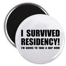 Residency Survivor Magnet