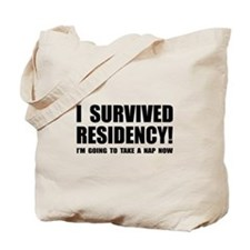 Residency Survivor Tote Bag