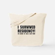 Residency Survivor Tote Bag