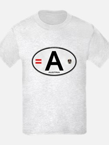 Austria Euro Oval T-Shirt