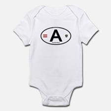 Austria Euro Oval Infant Bodysuit