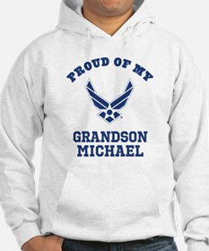 Air Force Grandson Personalized Sweatshirt