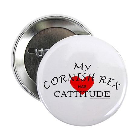 "CORNISH REX 2.25"" Button"