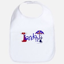 London Kitty Bib