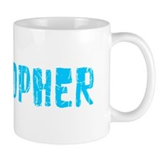 Cristopher Faded (Blue) Mug
