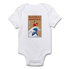 Bansai Surfer Infant Bodysuit