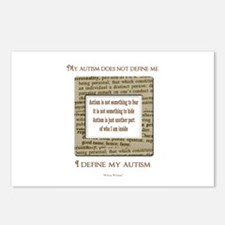 My Autism Does Not Define Me Postcards (Package of